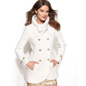 Jessica Simpson Dbl Breasted Envelope Collar Coat